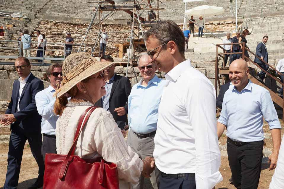Το αρχαίο θέατρο της Δωδώνης επισκέφθηκε ο πρωθυπουργός