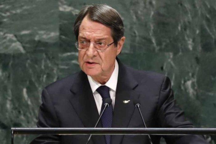 Νίκος Αναστασιάδης στον ΟΗΕ : Δεν γίνονται διαπραγματεύσεις με απειλή κανονιοφόρων