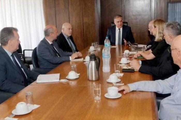 Συνάντηση Τάκη Θεοδωρικάκου, με εκπροσώπους του Συνδέσμου Ελληνικών Τουριστικών Επιχειρήσεων