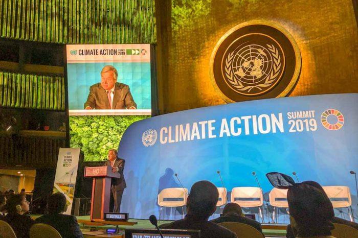 Ο πρωθυπουργός παραβρέθηκε στην εναρκτήρια συνάντηση της Συνόδου Κορυφής για την Κλιματική Δράση