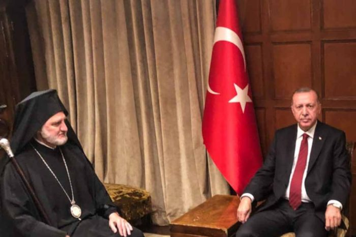 Συνάντηση του Αμερικής Ελπιδοφόρου με τον Ρετζέπ Ταγίπ Ερντογάν