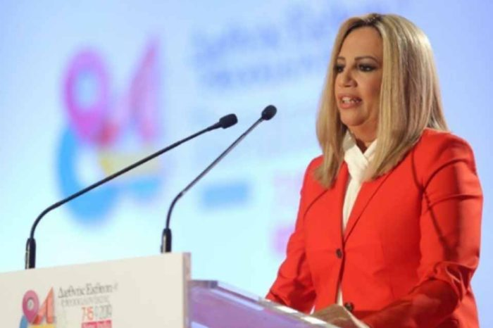 Φώφη Γενηματά : Ν.Δ. και ΣΥΡΙΖΑ έχουν στοχοποιήσει το ΚΙΝΑΛ