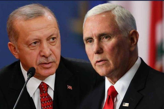 Ο Ταγίπ Ερντογάν θα συναντηθεί τελικά αύριο, Πέμπτη, με τον Αντιπρόεδρο των ΗΠΑ Μάικ Πενς