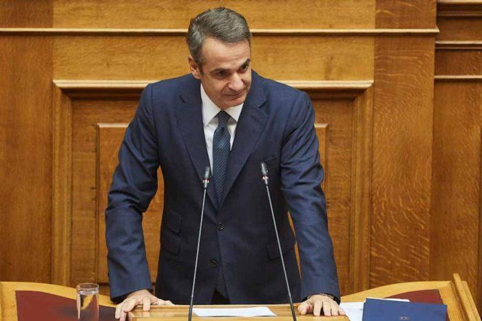 Τις θέσεις της κυβέρνησης για την αντιμετώπιση του προσφυγικού/μεταναστευτικού, παρουσίασε στη Βουλή ο πρωθυπουργός