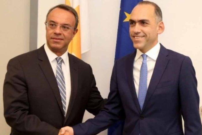 Τι είπε ο υπουργός Οικονομικών Χρήστος Σταϊκούρας, στη συνάντησή του στην Κύπρο με τον Χάρη Γεωργιάδη