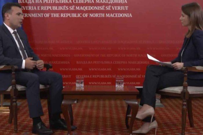 Ζόραν Ζάεφ: Σε κίνδυνο τίθεται ενδεχομένως η Συμφωνία των Πρεσπών
