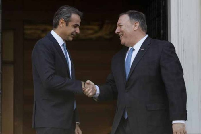 Πρωθυπουργός Κυριάκος Μητσοτάκης :  Σας καλοσωρίζω με αισθήματα φιλίας και εκτίμησης