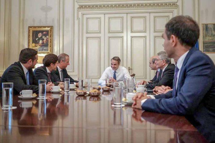 Σειρά συναντήσεων του Πρωθυπουργού με εκπροσώπους κορυφαίων εταιρειών που έχουν επενδύσει ή θα επενδύσουν