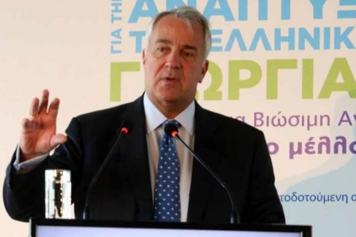 Ο Μάκης  Βορίδης στο 6ο Πανελλήνιο Συνέδριο για την Ανάπτυξη της Ελληνικής Γεωργίας
