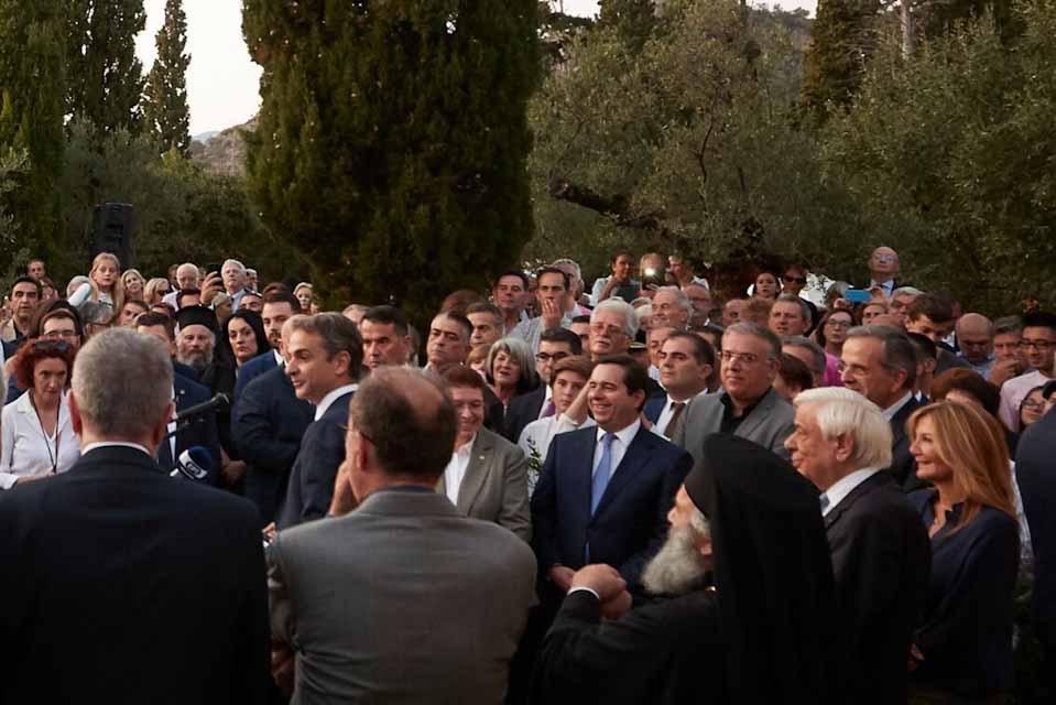 Κυριάκος Μητσοτάκης : Στηρίζουμε τις  πρωτοβουλίες ιδρυμάτων και ιδιωτών στον τομέα του πολιτισμού