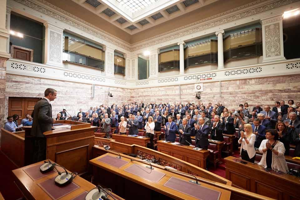 Κυριάκος Μητσοτάκης : Αξιόπιστη , σύγχρονη , αισιόδοξη Ελλάδα