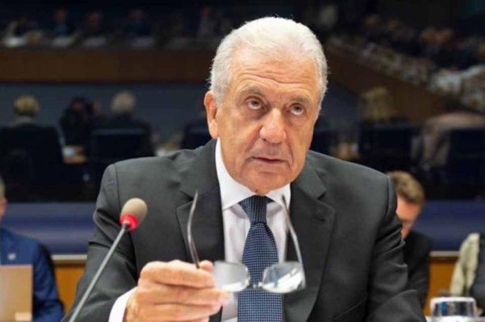 Ο  Δημήτρης Αβραμόπουλος, προσκεκλημένος της Βουλής των Ελλήνων