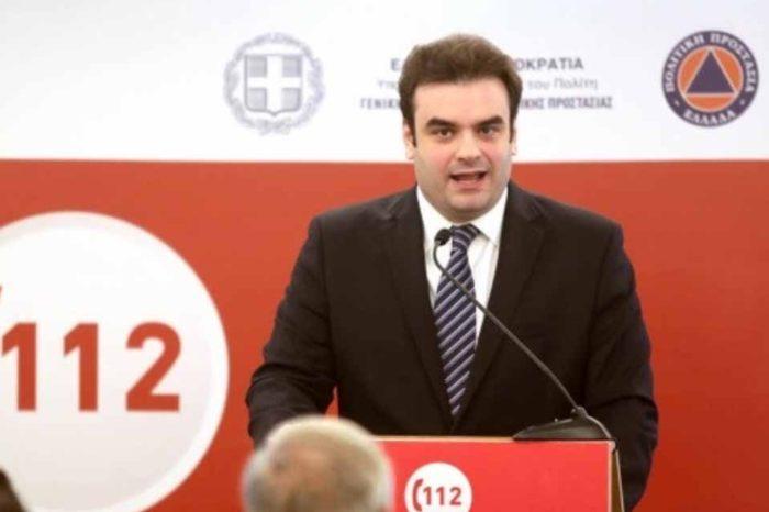 """Κυριάκος Πιερρακάκης :Το σύστημα του """"112"""" θα είναι έτοιμο στο τέλος του έτους"""