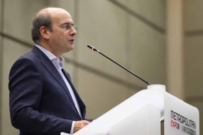 Κωστής Χατζηδάκης : Εννέα άξονες της πολιτικής για το περιβάλλον και την ενέργεια