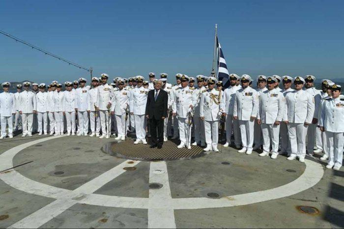 Είστε φύλακες της Ειρήνης αλλά και φύλακες των θαλάσσιων συνόρων της Ελλάδας, της Ε.Ε. και της Διεθνούς Νομιμότητας