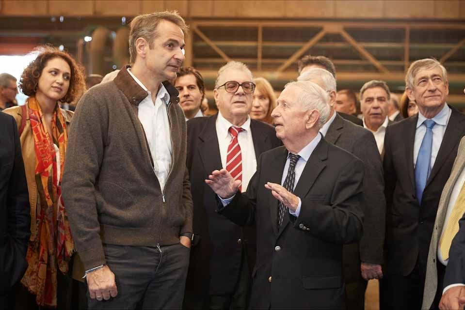 Κυριάκος Μητσοτάκης :Η  κυβέρνηση στηρίζει έμπρακτα την επιχειρηματικότητα και τις επενδυτικές πρωτοβουλίες