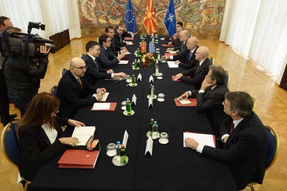 Οι συναντήσεις του Νίκου Δένδια στα Σκόπια