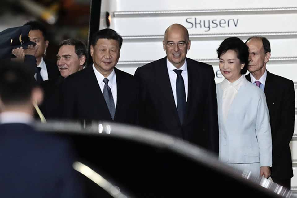 Στην Αθήνα, βρίσκεται για επίσημη επίσκεψη, ο πρόεδρος της Λαϊκής Δημοκρατίας της Κίνας, Σι Τζινπίνγκ
