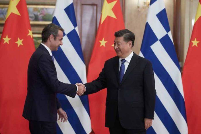 Σε θερμό κλίμα η συνάντηση τουπρωθυπουργού, με τον πρόεδρο της Κίνας
