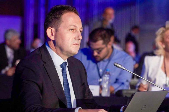 Ο Στέλιος Πέτσας , στο Συμβούλιο Υπουργών Πολιτισμού και Οπτικοακουστικής Πολιτικής