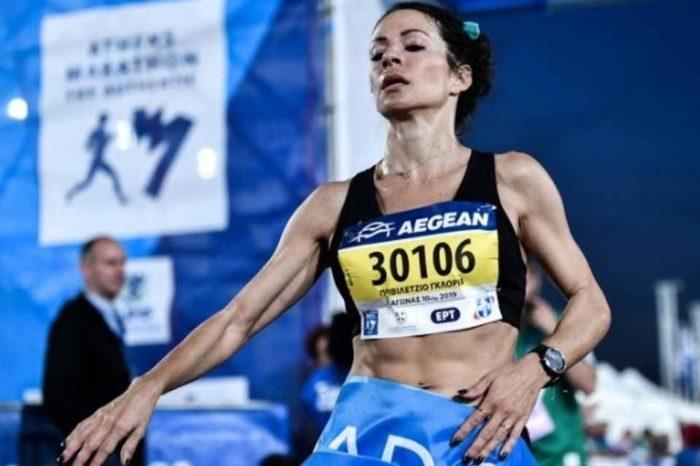 Ο Γιώργος Τάσσης και η Γκλόρια Πριβιλέτζιο,  νικητές στα 10χλμ. στον 37ο Μαραθώνιο Αθήνας