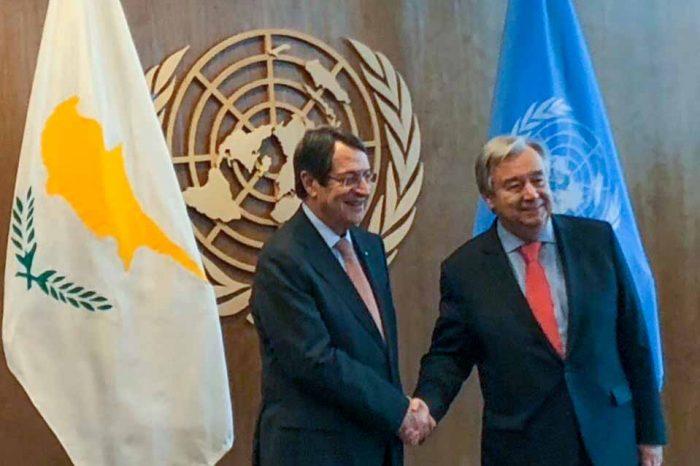 Σε εξέλιξη  βρίσκεται στο Βερολίνο η συνάντηση του γενικού γραμματέα των Ηνωμένων Εθνών, Α. Γκουτέρες, με τον Ν.Αναστασιαδη και Μ. Ακιντζί