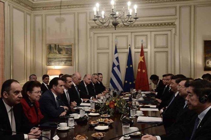 Κοινή  διακήρυξη, Ελλάδας και Κίνας