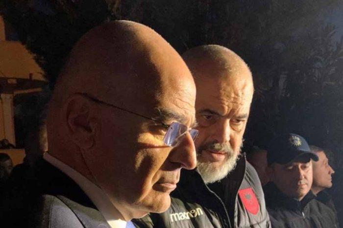 Η Ελλάδα είναι δίπλα στον αλβανικό λαό και στην κυβέρνησή του