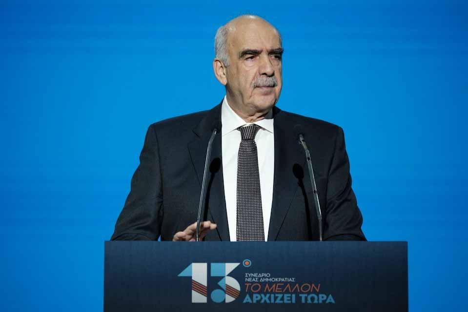 Βαγγέλης Μειμαράκης: Είμαστε η πολιτική δύναμη σταθερότητας και προόδου και μιλάμε με όρους μέλλοντος