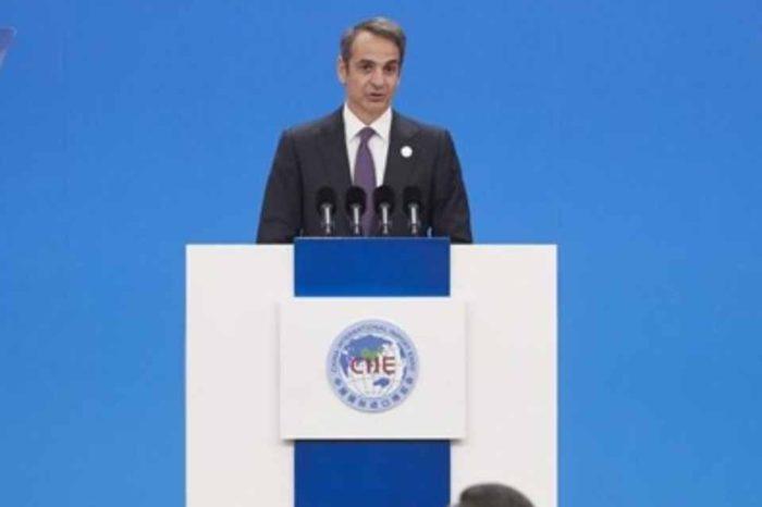 Η Ελληνική οικονομία ανακάμπτει δυναμικά, τόνισε ο Κυριάκος Μητσοτάκης μιλώντας στην τελετή των εγκαινίων της Διεθνούς Έκθεσης China International Import Expo 2019