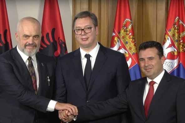 Σημαντικές αποφάσεις ελήφθησαν στη σύνοδο κορυφής Σερβίας – Βόρειας Μακεδονίας – Αλβανίας