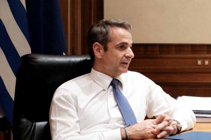 Τηλεφωνική επικοινωνία του Πρωθυπουργού Κυριάκου Μητσοτάκημε τον Πρωθυπουργό της Αλβανίας Έντι Ράμα