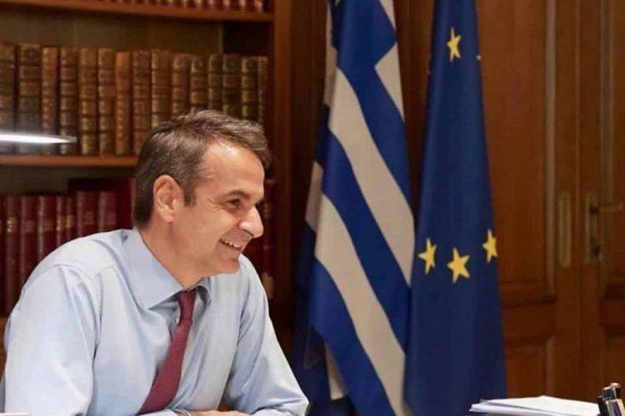 Ο πρωθυπουργός Κυριάκος Μητσοτάκης μεταβαίνει στη Θεσσαλονίκη