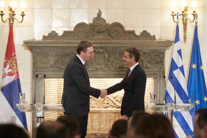 Πρωθυπουργός Κυριάκος: Η Σερβία ανήκει στην Ευρώπη, η πορεία αυτή πρέπει να ολοκληρωθεί