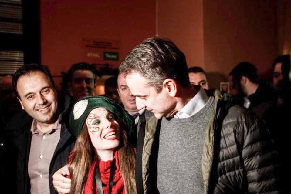Στα Τρίκαλα  ο Κυριάκος Μητσοτάκης επισκέφθηκε τον Χριστουγεννιάτικο Μύλο των Ξωτικών