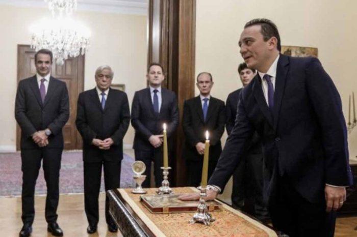 Κώστας Βλάσης : Θα κάνω ό,τι περνά από το χέρι μου προκειμένου να δικαιώσω τις προσδοκίες όλων των αποδήμων Ελλήνων