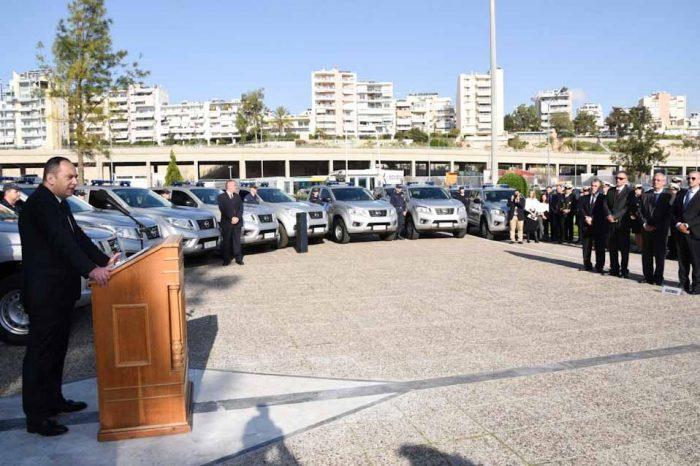 Με 54 νέα οχήματα,  ενισχύεται η επιχειρησιακή ετοιμότητα του Λιμενικού Σώματος