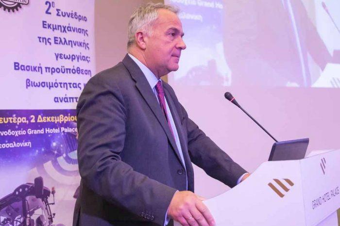 Μάκης . Βορίδης: Μειώνουμε το κόστος παραγωγής των αγροτών εκσυγχρονίζοντας την ελληνική γεωργία