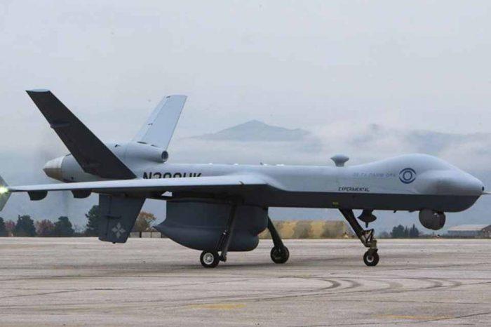 Παρουσίαση μη επανδρωμένου αεροσκάφους ΜQ-9 guardian
