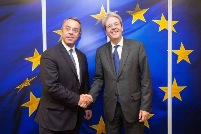 Ο υπουργός Οικονομικών, Χρήστος Σταϊκούρας στο σημερινό Eurogroup