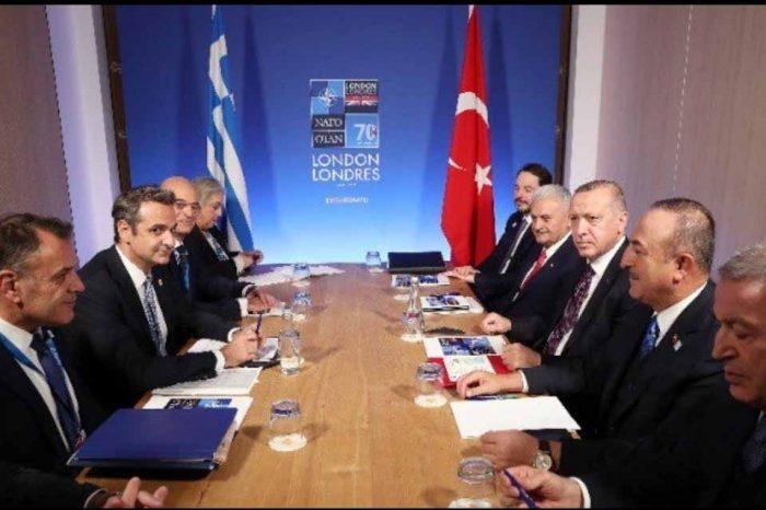 Ολοκληρώθηκε η συνάντηση, του Πρωθυπουργού με τον Τούρκο πρόεδρο