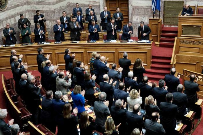 Yπερψηφίστηκε ο προϋπολογισμός της κυβέρνησης για το 2020