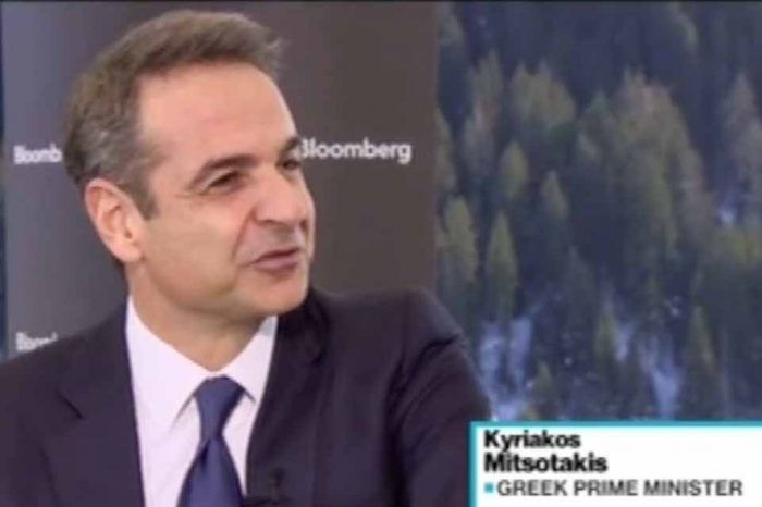 Bloomberg-Κυριάκος Μητσοτάκης: Στόχος είναι η προσέλκυση επενδύσεων ύψους 100 δισεκατομμυρίων ευρώ