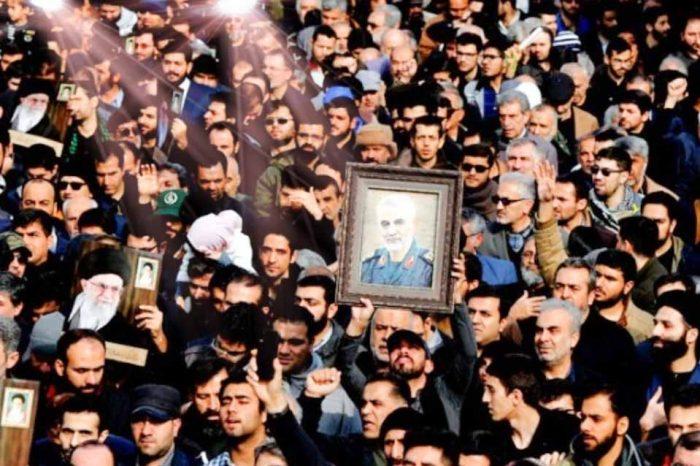 Στη γενέτειρά του, την Κερμάν στο Ιράν, θα ταφεί την Τρίτη ο Σουλεϊμανί