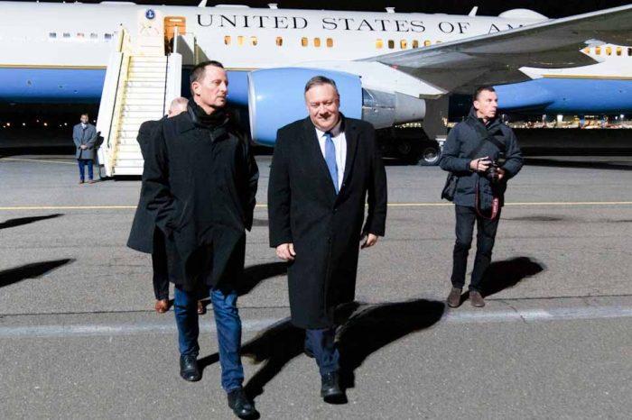 Στο  Βερολίνο ο υπουργός Εξωτερικών των ΗΠΑ Μάικ Πομπέο