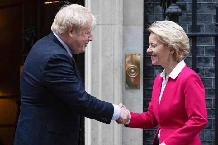 Στο επίκεντρο το  Brexit, στη συνάντηση Τζόνσον με την κ. φον ντερ Λάιεν