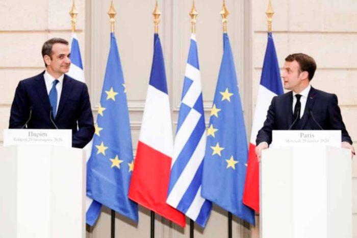 Ελλάς-Γαλλία Συμμαχία, Κοινές δηλώσεις στα ΜΜΕ του Γάλλου Προέδρου και του Πρωθυπουργού