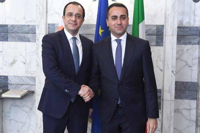 H Ιταλία εξέφρασε και πάλι στην Κύπρο την πλήρη της αλληλεγγύη