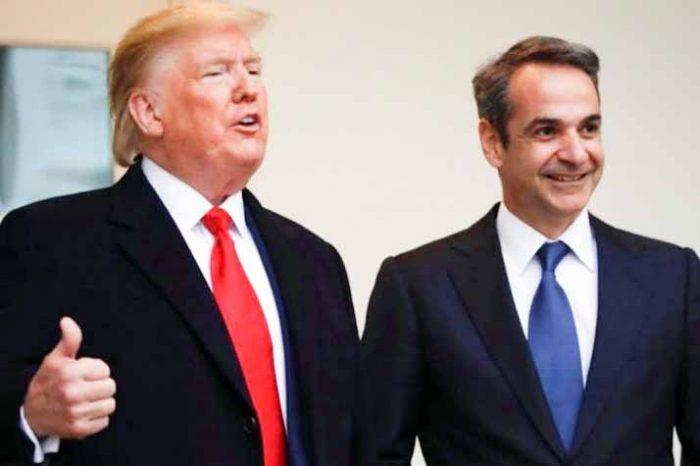Στον Λευκό Οίκο ο πρωθυπουργός  Κυριάκος Μητσοτάκης με τον Πρόεδρο των ΗΠΑ Ντόναλντ Τραμπ