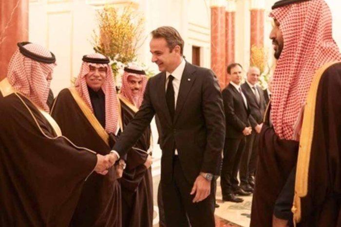 Ολοκληρώθηκε η επίσκεψη του Πρωθυπουργού στό Ριάντ και μεταβαίνει στο Άμπου Ντάμπι